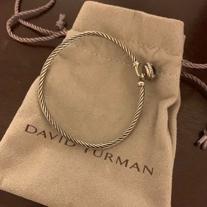 David Yurman black onyx bracelet